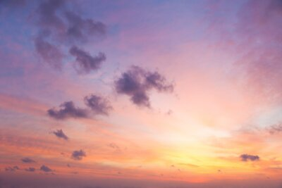Fototapeta Delikatne kolory Sunrise Sky