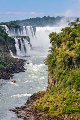 Fototapeta Diabelskie Gardło, Wodospady Iguazu, Argentyna