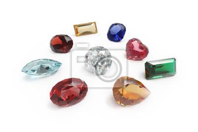 991029ba8f0f66 Diament i innych klejnotów, kamieni szlachetnych Fototapeta ...