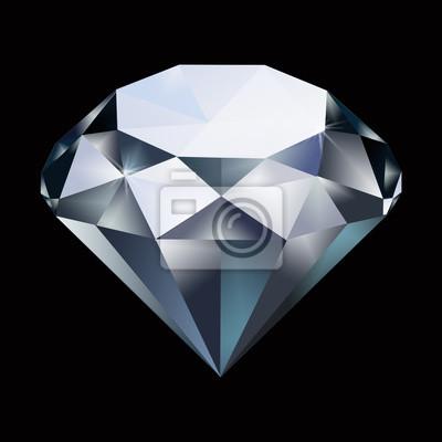 d17973f7d86628 Fototapeta Diament samodzielnie na tle. Klejnot, klejnot, kamień szlachetny,  klejnot szlachetny,