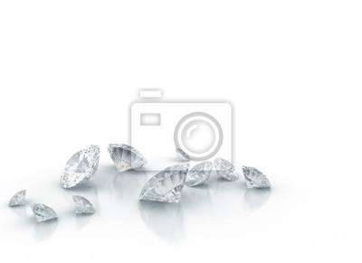 Fototapeta diamenty