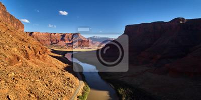 Fototapeta dolina zamkowa, utah malownicza rzeka