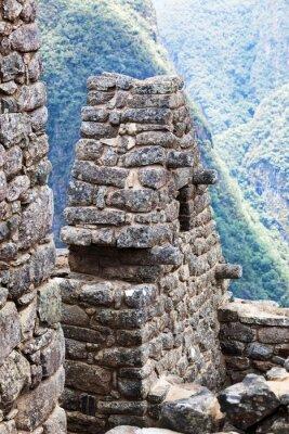 Fototapeta dom w mieście Machu Picchu