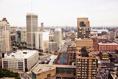Fototapeta Downtown Detroit