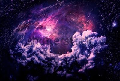 Fototapeta Dreamscape Galaxy - Elementy tego obrazu Dostarczone przez NASA