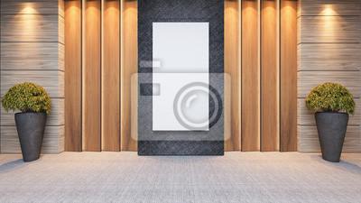 Fototapeta Drewniany Panel Dekoracje ścienne Projekt