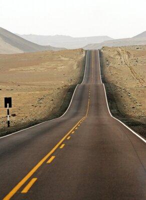 Droga 5 - pustynia