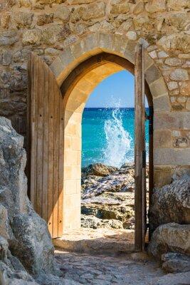 Fototapeta Drzwi otwarte morze