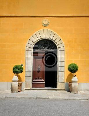 Fototapeta drzwi, Toskania