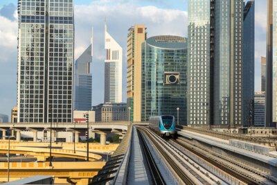 Fototapeta Dubai Metro