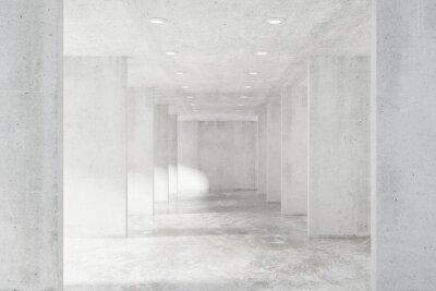 Fototapeta Duży pusty strych