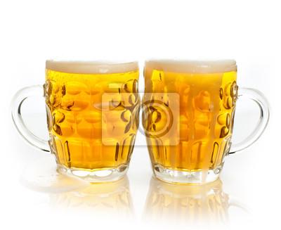 Fototapeta Dwa piwa kubki
