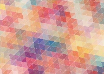 Fototapeta Dwuwymiarowe abstrakcyjna kolorowe tło