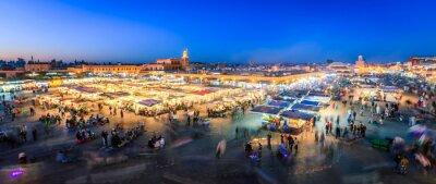 Fototapeta Dżamaa Fna, Marrakesz