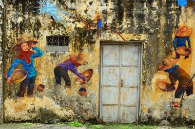 Fototapeta Dziedzictwo Ipoh, Malezja - Ipoh to miasto w Malezji, około 200 km na północ od Kuala Lumpur ..