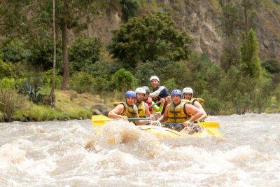 Fototapeta Ekwador Whitewater Rafting