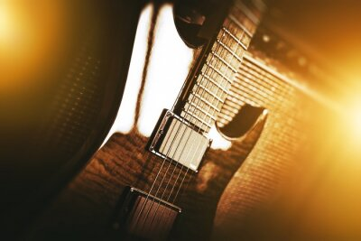 Fototapeta Electric Guitar Theme