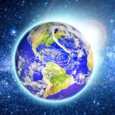 Elementy Planeta Ziemia Tego Zdjęcia Dostarczone Przez Nasa