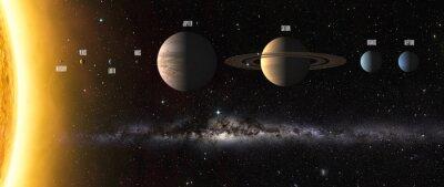Fototapeta Elementy tego zdjęcia dostarczone przez NASA