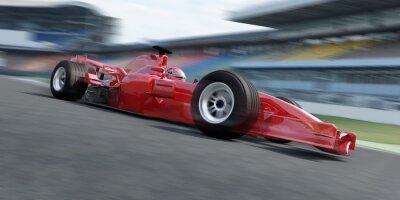 Fototapeta f1 racer Rennstrecke