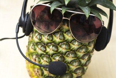 Fototapeta Fajne Pineapple