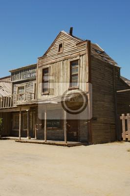 9917740d9 Fototapeta Fałszywe sklepy w Western Town Movie Set, Fort Bravo, Tabernas  pustyni, Almeria