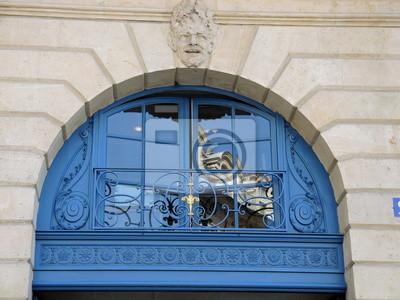 Fototapeta Fenestre Bleue
