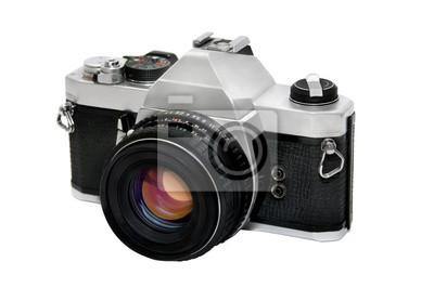 Fototapeta Film kamery na białym