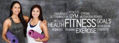 Fototapeta Fitness Workout