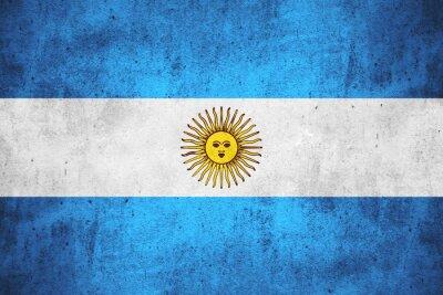 Fototapeta Flaga Argentynie