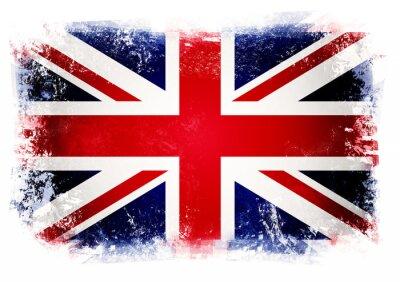 Fototapeta Flaga Wielkiej Brytanii
