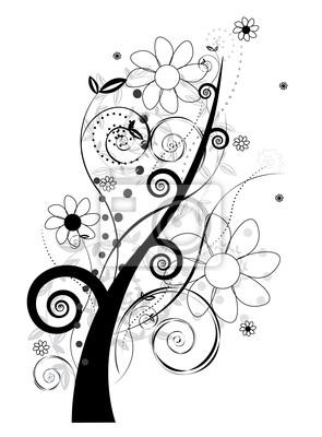 Fototapeta Floral wektora projektowania