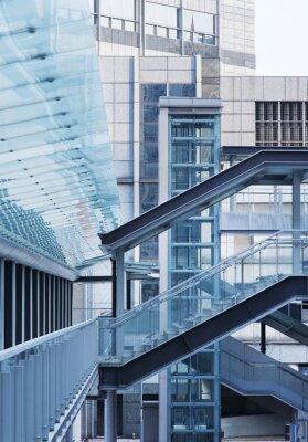 Fototapeta Foot Bridge i schody