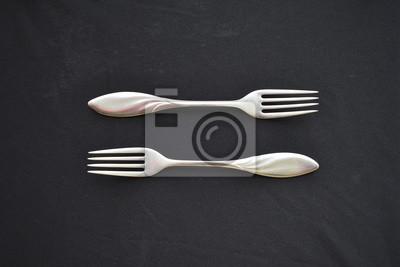 Fototapeta Forks
