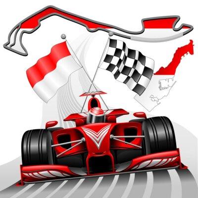 Fototapeta Formuła 1 GP Monako