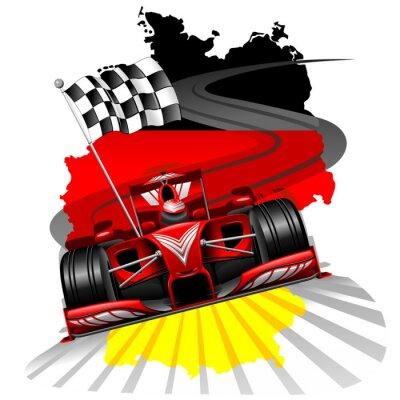 Fototapeta Formuła 1 GP Niemiec