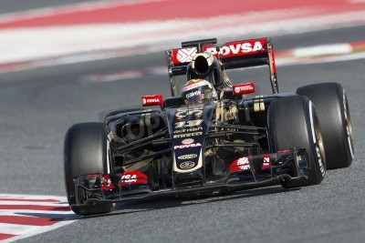 Fototapeta Formula One dni testów na Circuit de Catalunya. 27 lutego 2015