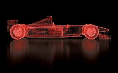 Fototapeta Formula One Mesh