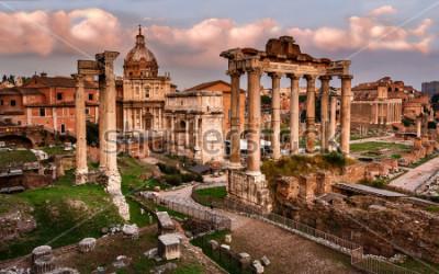 Fototapeta Forum Romanum w Rzymie