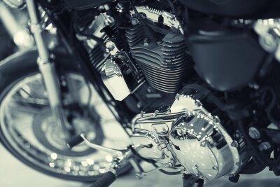 Fototapeta Fragment motocykla