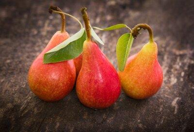 Fototapeta Fresh organic pears