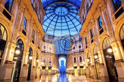 Fototapeta Galleria Vittorio Emanuele II, Mediolan, Włochy