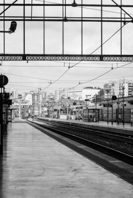 Fototapeta Gare