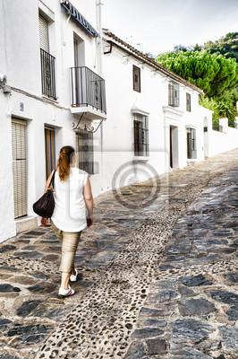 Fototapeta Genalguacil, Malaga, Hiszpania