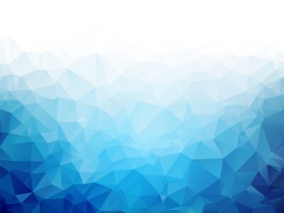 Fototapeta Geometryczne Niebieski lód tekstury tła