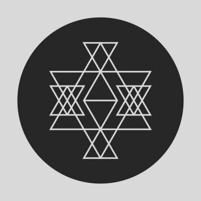 Fototapeta Geometryczny element graficzny