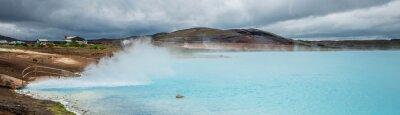 Fototapeta Geotermalna staw, Myvatn