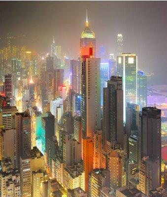 Fototapeta Gęstość Hong Kong