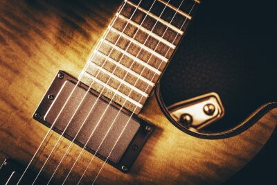 Fototapeta Gitara elektryczna Concept
