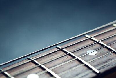 Fototapeta Gitara szyi zbliżenie
